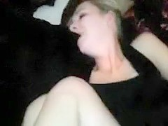 Also Tight White Blonde Pussy Requires Too Large Black Cock