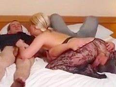 Hottest Homemade video with Big Dick, Stockings scenes