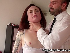 Chloe Carter in footage before scene went tits up - PascalsSubSluts