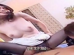 Best Japanese model Tsubaki Katou, Aika Moriguchi in Amazing Threesomes, Small Tits JAV video