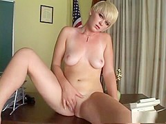 Fabulous pornstar Claudia Downs in amazing solo girl, blonde sex video