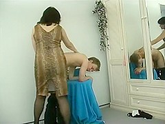 Horny Amateur clip with Cunnilingus, Young/Old scenes