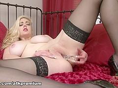 Fabulous pornstar Sapphire Blue in Crazy Big Tits, Masturbation sex movie