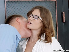 Teens Analyzed - Cute coed assfucked by a tutor