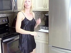 Incredible amateur MILFs, Creampie xxx movie