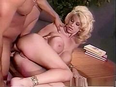 Hottest pornstar in crazy blonde, big tits sex clip