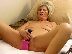 Mrs Z Plays With Her Toys