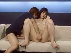 Crazy Japanese girl Saori Hara in Fabulous Doggy Style, Hairy JAV clip