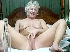 Amazing Amateur record with Masturbation, Grannies scenes