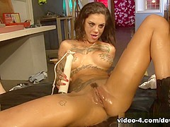 Horny pornstars Stevie Shae, Payton Sinclaire, Bonnie Rotten in Hottest Fetish, Tattoos sex video