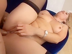 Incredible Homemade movie with Stockings, Cunnilingus scenes