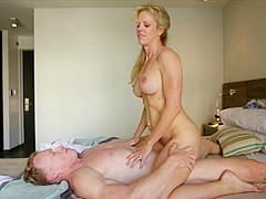 Incredible pornstars in Fabulous Mature, Blonde porn scene