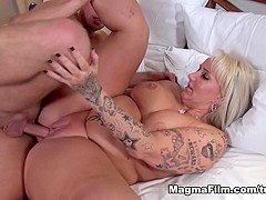 Fabulous pornstar in Incredible Big Tits, Creampie porn video