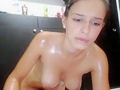 Hottest Amateur record with Softcore, Brunette scenes
