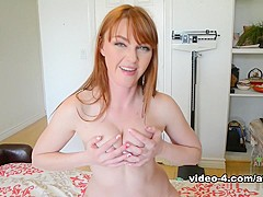 Fabulous pornstar Marie McCray in Amazing Hairy, Redhead adult scene