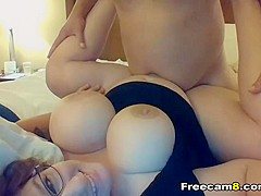 Hot Babe with Huge Tits Fucked Hard