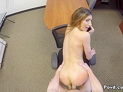 Moka Mora in Office Slut - POVD