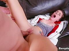 Amazing pornstar Kharlie Stone in Crazy Small Tits, Hardcore porn clip
