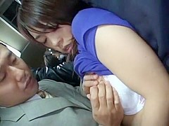 Exotic Japanese slut in Best Outdoor, Public JAV movie