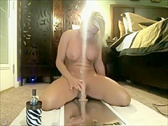 Horny Amateur record with Toys, Solo scenes