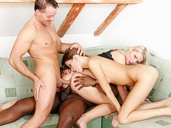 J.j. Michaels & Joachim Kessef & Mia Angel in Mia Angel And Silvie De Lux Find A Well-Hung Playmate