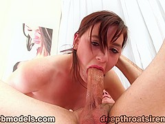 Horny pornstar Audrey Holiday in Incredible Blowjob, College xxx movie