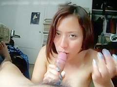 Amazing Amateur record with Blowjob, POV scenes