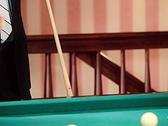 PINUP SEX - Hot sex on the pool table with sexy Czech pinup babe Kattie Gold
