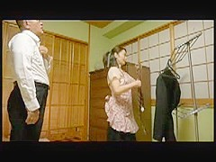 Amazed Japanese Wife Caught Husbands Young Cousin