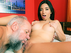 Frida Sante & Albert in Games with Grandpa - 21Sextreme