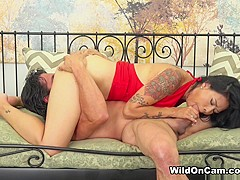 Horny pornstars Dana Vespoli, Tommy Gunn in Incredible Natural Tits, Asian xxx movie