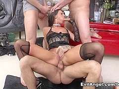 Exotic pornstars Yanick Shaft, Mike Angelo, Simony Diamond in Best Stockings, Hardcore adult video