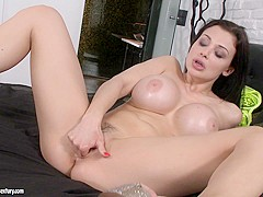 Fabulous pornstar Aletta Ocean in Hottest Big Tits, Masturbation adult scene