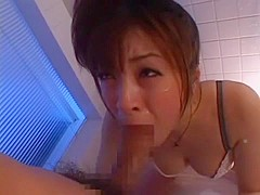 Incredible Japanese model Saya Yukimi in Crazy Blowjob/Fera JAV video