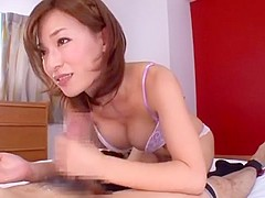 Amazing Japanese girl Kaho Kasumi in Exotic Lingerie, POV JAV video