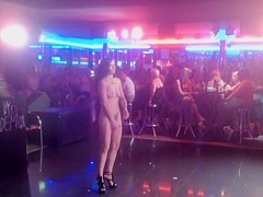 Naked on Stage 144 Demaria Layton Sticky Demaria Show