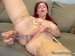 Exotic pornstar Penny Pax in Hottest Solo Girl, Stockings porn movie