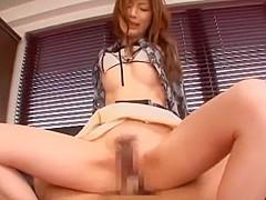 Hottest Japanese slut Kaede Fuyutsuki in Amazing Doggy Style JAV scene