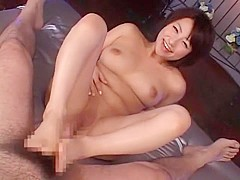 Exotic Japanese girl in Crazy POV, Foot Job/Ashifechi JAV movie