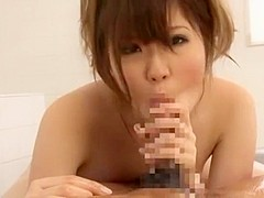 Hottest Japanese girl Momoka Nishina in Exotic Big Tits, Showers JAV clip