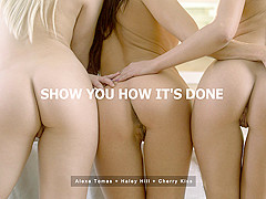Alexa Tomas & Cherry Kiss in Show You How It's Done - StepmomLessons