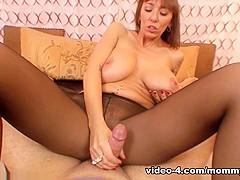 Hottest pornstars Alia Janine, Johnny Fender in Best Redhead, MILF adult clip