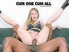 Jillian Janson in Cum One Cum All - BlackIsBetter