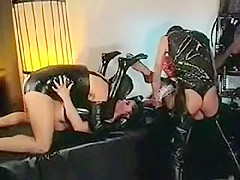 Amazing homemade Group Sex, Fetish porn clip