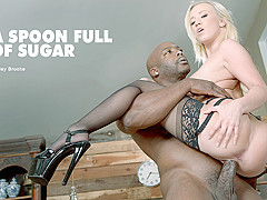 Bailey Brooke in A Spoon Full of Sugar - BlackIsBetter
