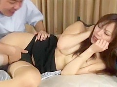 Horny Japanese slut Natsumi Horiguchi in Fabulous Doggy Style, Big Tits JAV video