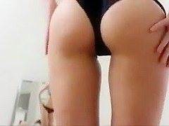 Fabulous homemade Yoga, Blowjob porn scene