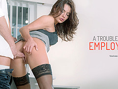 Vanessa Decker in A Troublesome Employee - OfficeObsession
