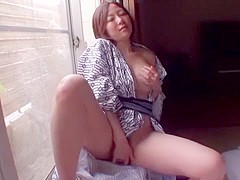 Amazing Japanese girl Kanade Tomose in Crazy Big Tits, Wife JAV video
