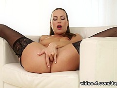 Crazy pornstars Mea Melone, Tina Kay in Horny Solo Girl, Stockings sex clip